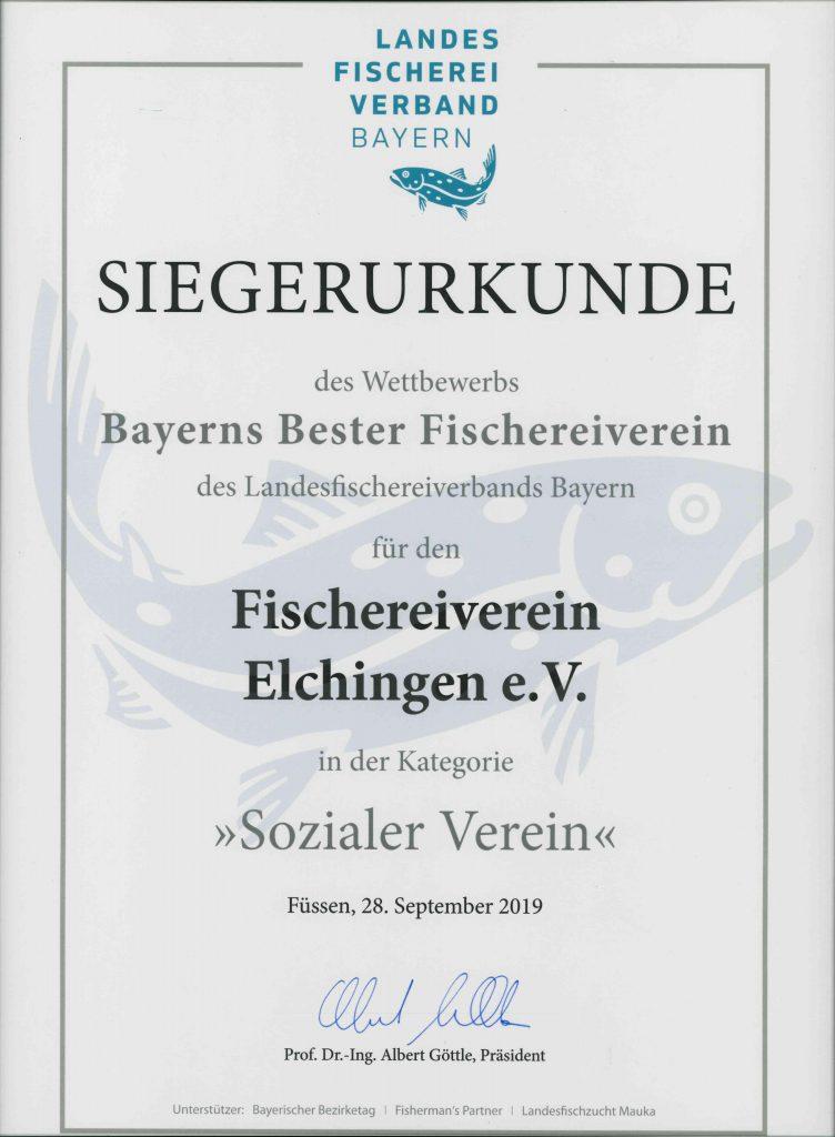 Urkunde_bayerns_bester_Fischereiverein