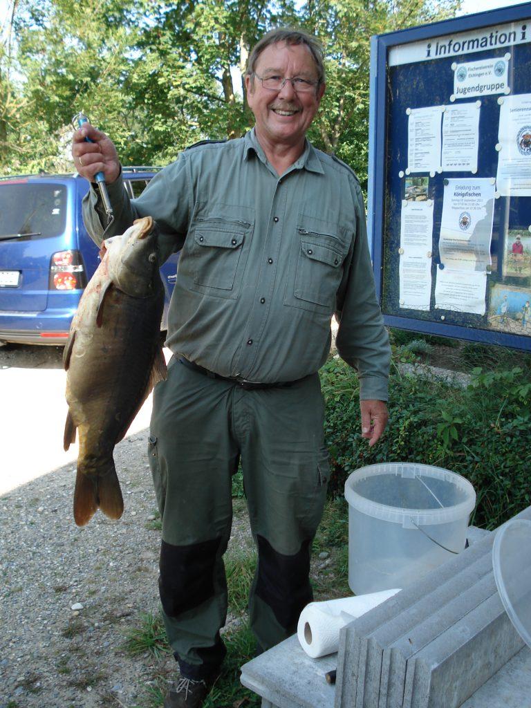 2.Platz Franz mit 5,2 Kg-Fisch